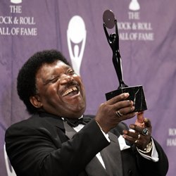 Percy Sledge at Music hall of Fame induction