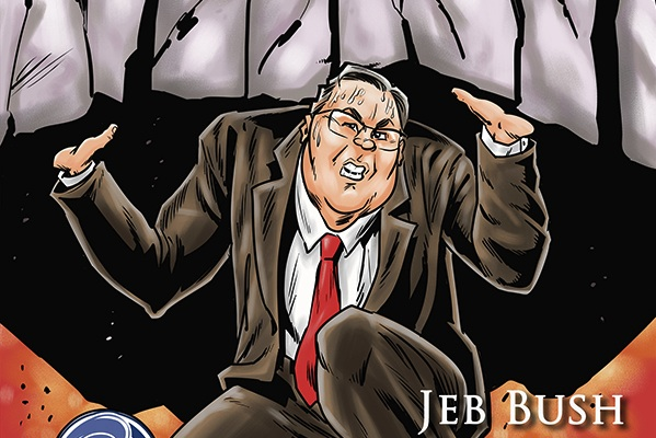 "Cover art for ""Political Power: Jeb Bush-Legacy"""