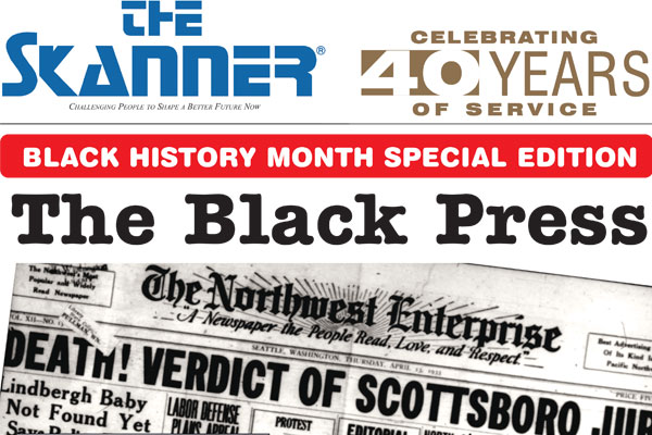 The Skanner News Black History edition cover