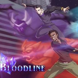 Still from the anime series 'Bloodline'