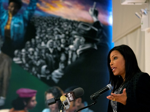Ilyasah Shabazz, daughter of Malcolm X
