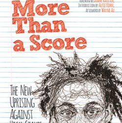 Cover of Hagopian's new book 'More Than A Score'