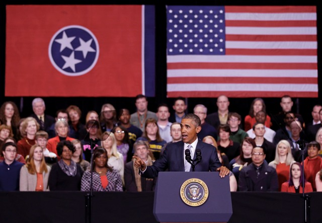 Obama introduces community college funding plan in Knoxville, Tenn.