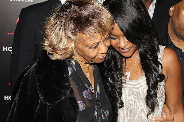 Cissy Houston with Bobbi Kristina Brown in 2012