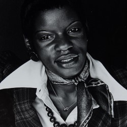 Mystery Black fashion model from 1975