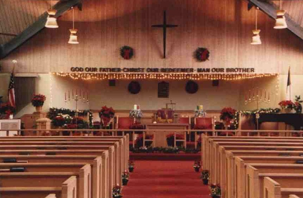 Interior of Bethel AME Church
