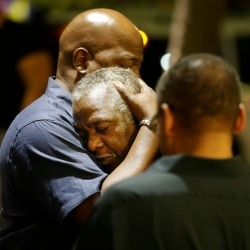 scenes surrounding the charleston, south carolina shooting