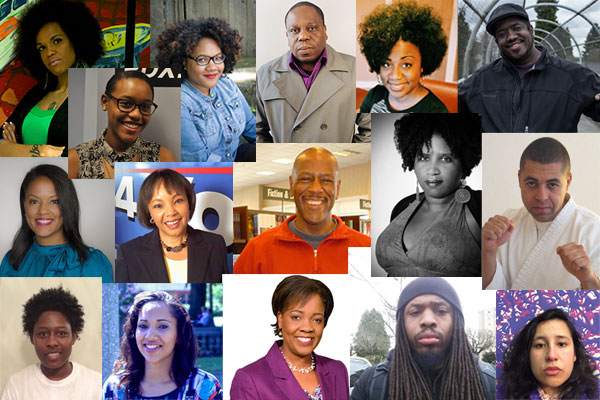 A collection of Black journalists throughout the Northwest