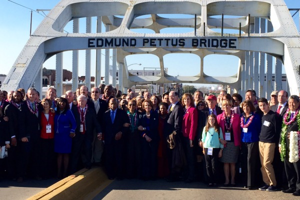 March on the Edmond Pettus Bridge