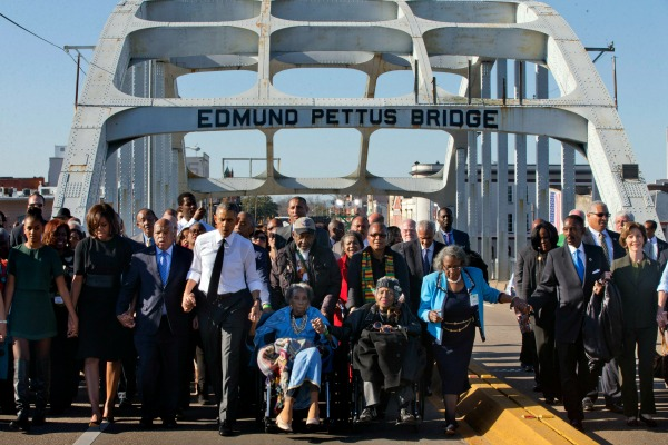 Selma 50th anniversary march