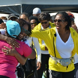 Soleful Strutters at the 2014 Hood to Coast finish line