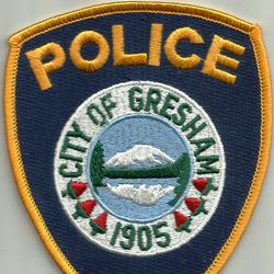 Gresham Police badge