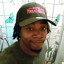 Jamar Clark, who was fatally shot in a confrontation with police on Sunday, Nov. 15, 2015, in Minneapolis. The state's Bureau of Criminal Apprehension on Wednesday, Nov. 18, which is leading an outside investigation of Sunday's fatal shooting of the unarmed black man, released the names of two Minneapolis police officers involved as Mark Ringgenberg and Dustin Schwarze. (Jamar Clark/Javille Burns via AP)
