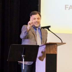 Tim Wise speaks at the Teaching with Purpose Conference