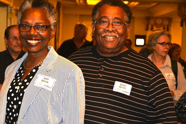 Janet and Ernest Batiste attended the Aug. 28, 2015, screening of the Wake of Vanport