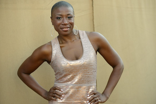 Aisha Hinds arrives at the CBS, CW and Showtime TCA party in Beverly Hills, Calif. July 29, 2013. Hinds has been cast to portray Harriet Tubman in the second season of the WGN series,
