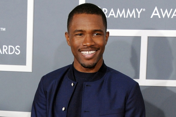 "Frank Ocean performs on stage at the 55th annual Grammy Awards in Los Angeles. Ocean's 17-track album ""Blonde"" was released on Saturday, Aug. 20, 2016, on Apple Music , one day after the R&B singer released a 45-minute ""visual album"" on the streaming service. (Photo by John Shearer/Invision/AP, File)"
