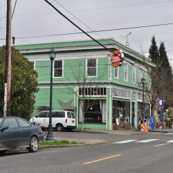 Anna Bannana's coffee shop on Alberta Street in Northeast Portland.