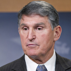 Sen. Joe Manchin, D-W.Va., speaks during a news conference on Capitol Hill in Washington, Feb. 11, 2016. Coal-state Democrats waged a fight for health benefits for thousands of retired miners, pointing to President Harry S. Truman's promise 70 years ago guaranteeing a lifetime of coverage. The stopgap spending bill contains a short-term fix and the issue will be revisited next spring. (AP Photo/Alex Brandon)