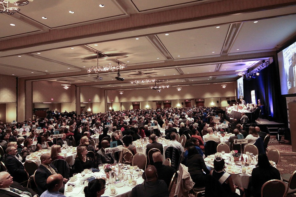 crowd at The Skanner Foundation's 2016 Martin Luther King Junior Breakfast