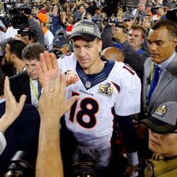 Peyton Manning at SuperBowl 50