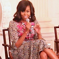 Michelle Obama, Howard University News Service