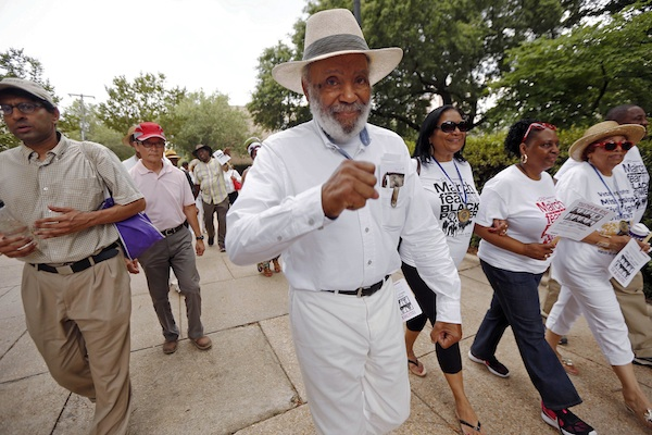 Civil-Rights Marchers Call for US to Deal With Inequality