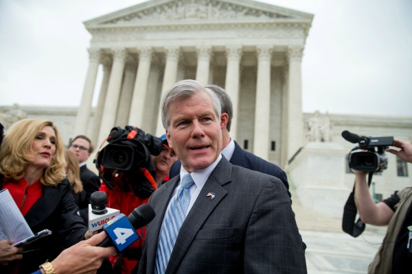 High Court Overturns Former Virginia Governor's Conviction