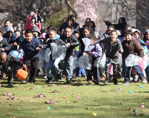 New Jersey egg hunt