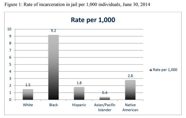 Racial Ethnic Disparities Report chart
