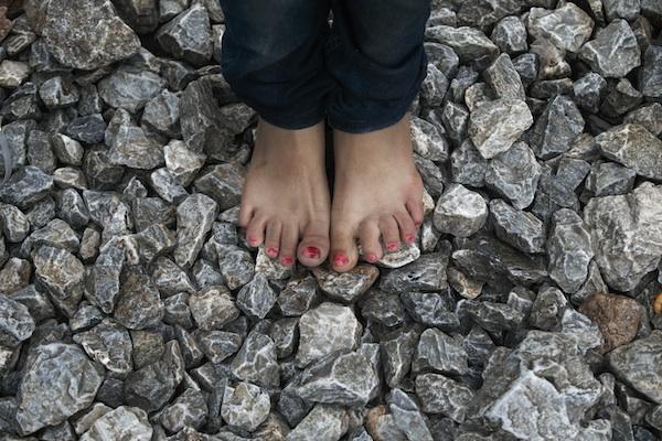 migrant feet