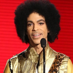 Prince presents the award for favorite album - soul/R&B at the American Music Awards in Los Angeles. Pop icon Prince is writing a memoir to be released next year. Publisher Spiegel & Grau announced Friday, March 18, 2016, it has acquired Prince's untitled book, which will be released in the fall of 2017.(Photo by Matt Sayles/Invision/AP, File)