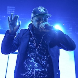 Rapper T.I. performs at HOT 97's