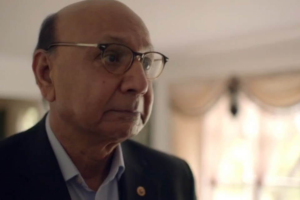 Khizr Khan in Hillary Clinton campaign video