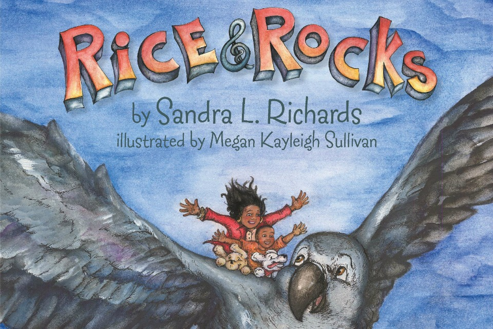 cover of Rice & Rocks by Sandra Richards