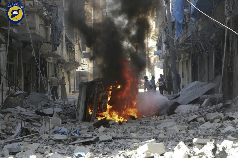 Syria burns