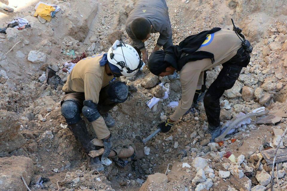 Syria child dead
