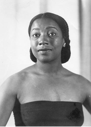 Thelma Johnson Streat portrait