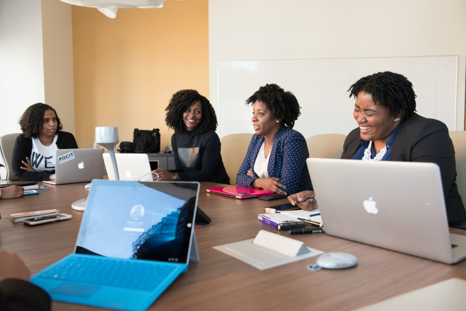 Women of Color in Tech (Stock image)