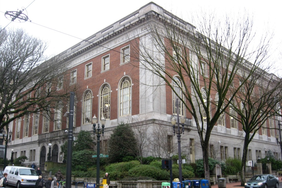 Central Library, Portland, Oregon (Photo: Wikimedia Commons)