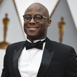 Barry Jenkins arrives at the Oscars on Sunday, Feb. 26, 2017, at the Dolby Theatre in Los Angeles. (Photo by Jordan Strauss/Invision/AP)