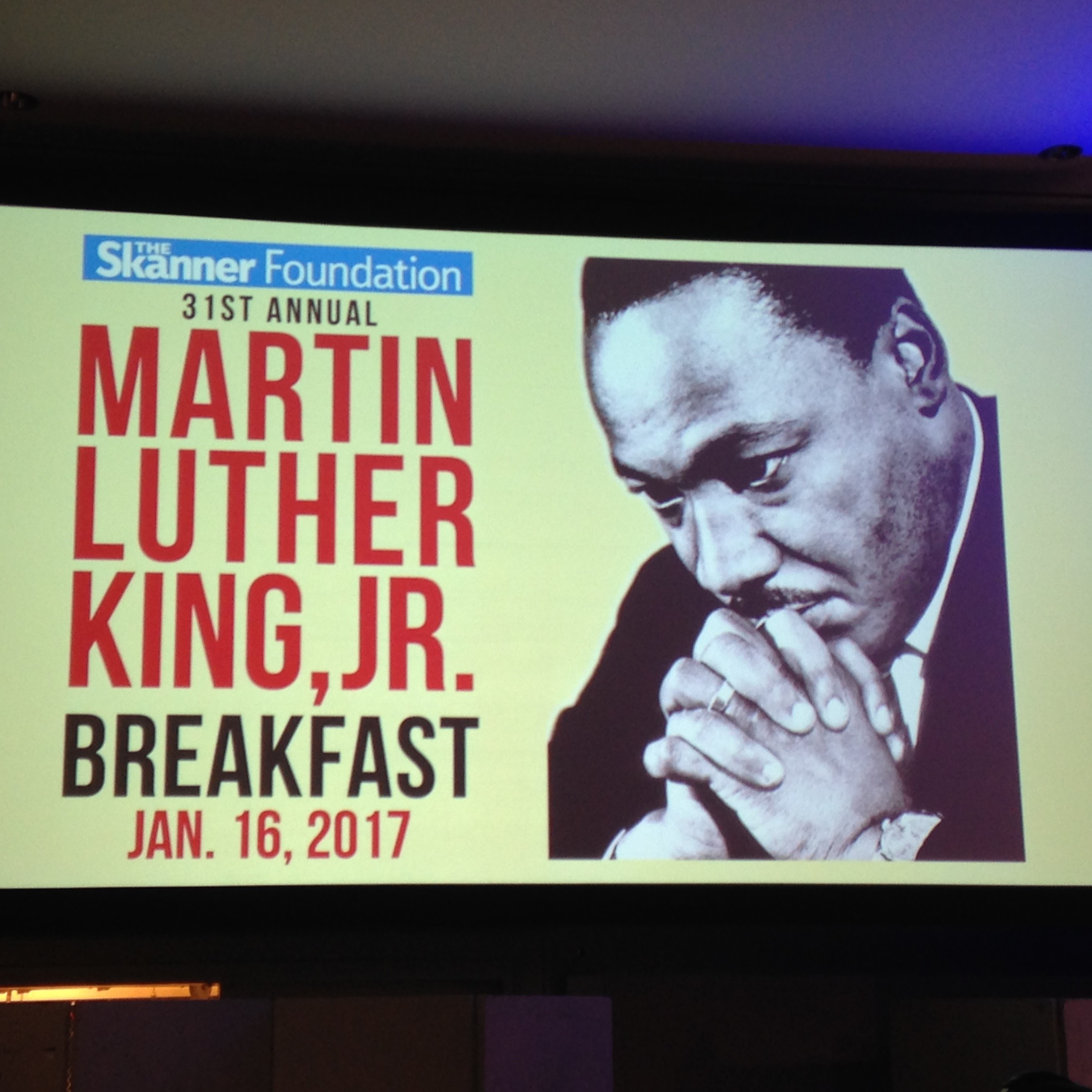 Live Updates: 31st Annual MLK Jr. Breakfast