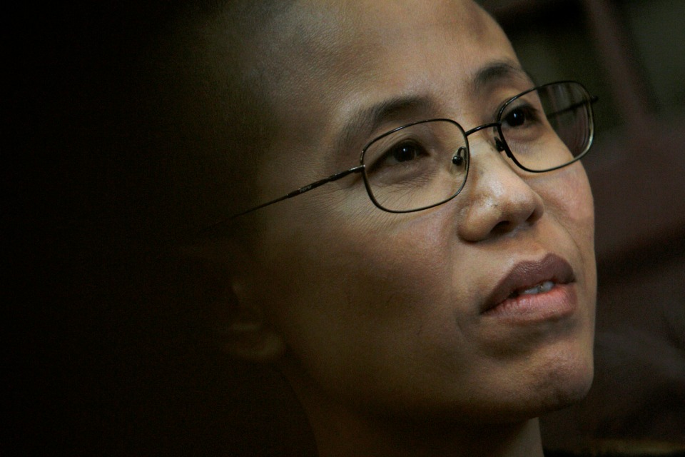 Liu Xia, wife of Chinese dissident Liu Xiaobo, speaks during an interview in Beijing