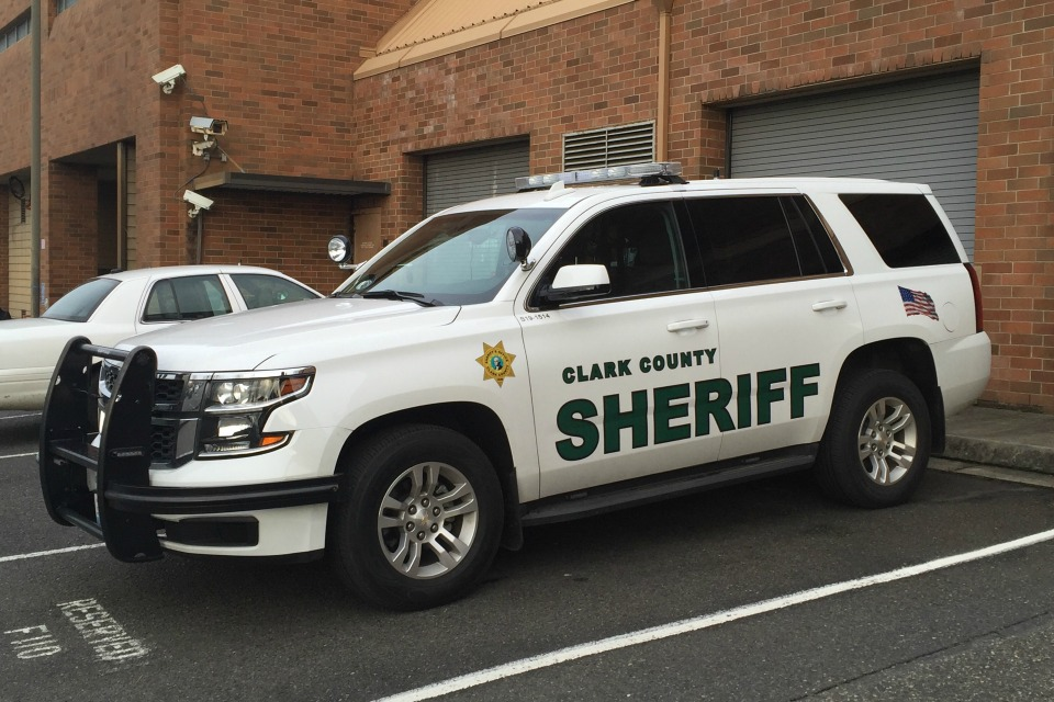 Clark County Sheriff's Department patrol car (stock image)