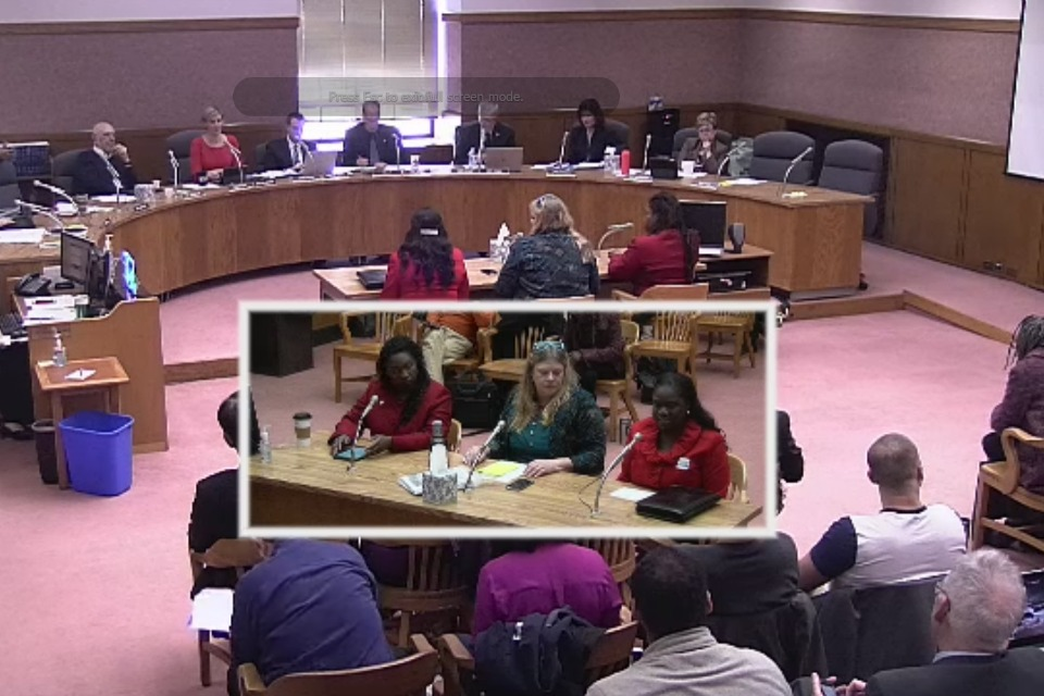 House Committee hearing on HB 2355 (video still, courtesy of Oregon State Legislature)