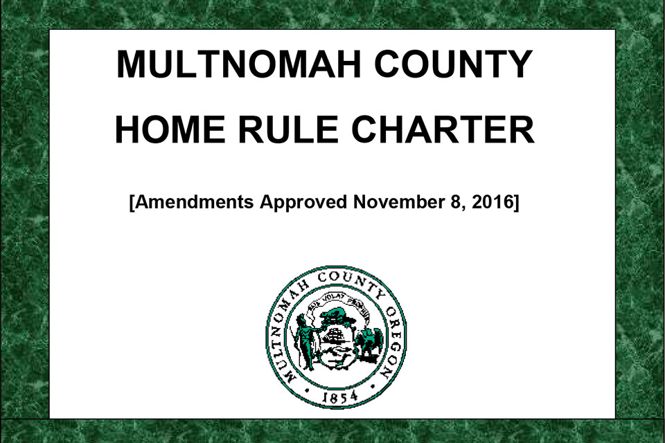 Multnomah County Charter
