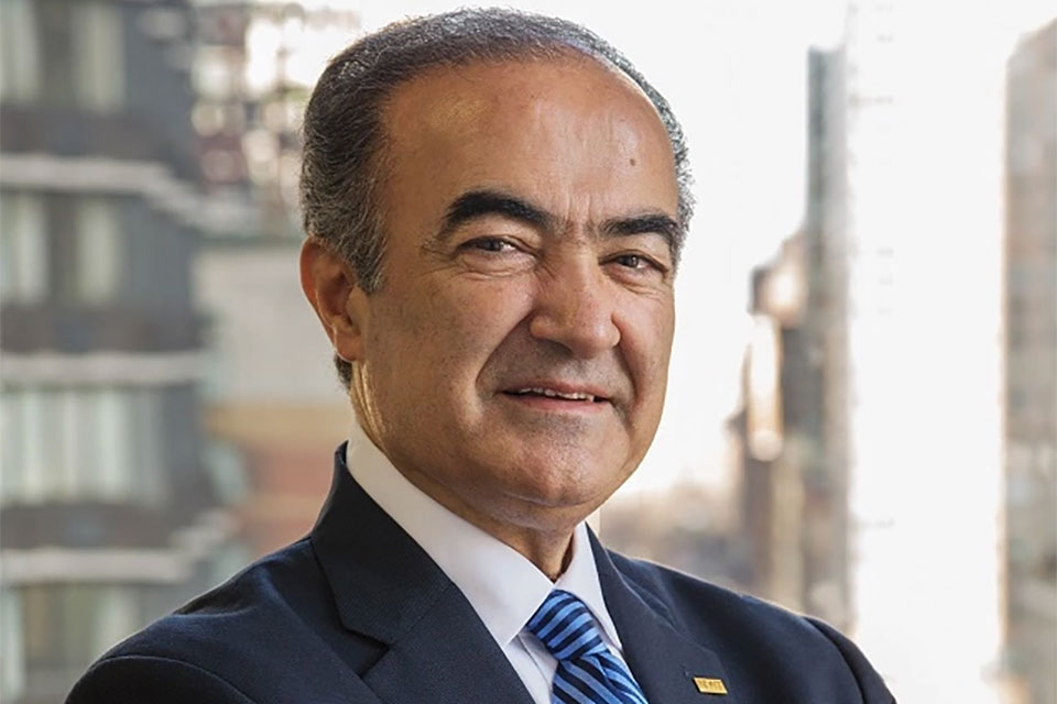 Rahmat Shoureshi (Photo courtesy of Portland State University)