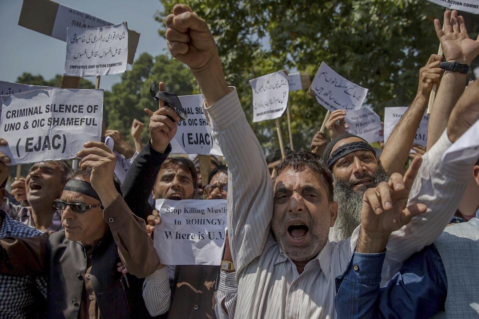 Rohynga protest