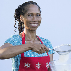 "Portland native Cheryl Norris is a contest on the new season of ""The Great American Baking Show,"" which premieres this week on ABC. Photo courtesy of Disney ABC."