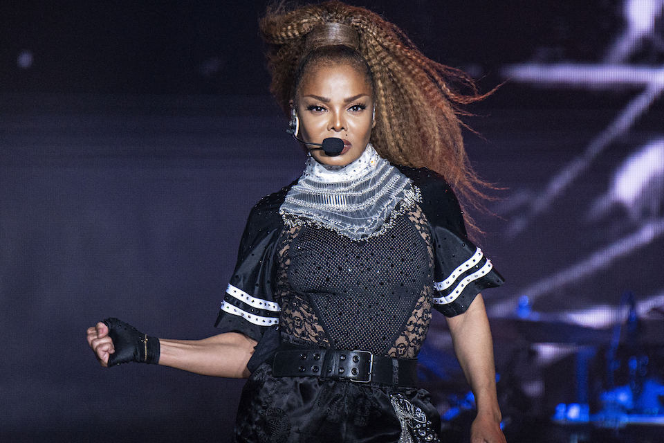 Janet Jackson performs at the 2018 Essence Festival in New Orleans, July 8, 2018. Jackson will join Def Leppard, Stevie Nicks, Radiohead, the Cure, Roxy Music and the Zombies as new members of the Rock and Roll Hall of Fame. The 34th induction ceremony will take place on March 29 at Barclays Center in New York. (Photo by Amy Harris/Invision/AP) ID : 18346851186699